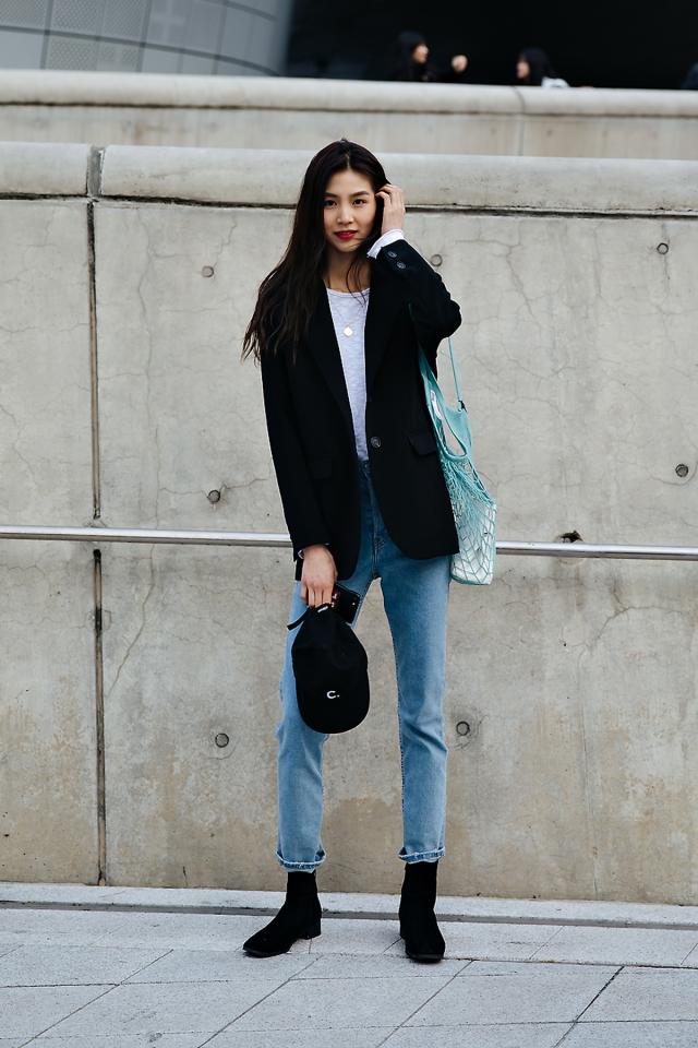 Um Yejin, SEOUL FASHION WEEK STREETWEAR WOMENS 2018FW