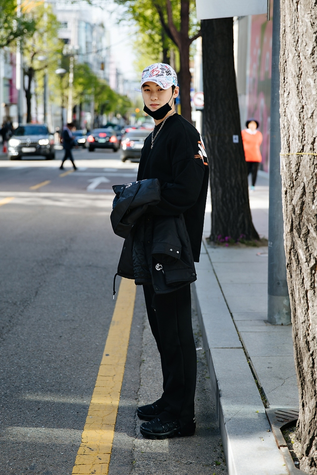 Cho Haeon, Street style men spring 2018 in seoul
