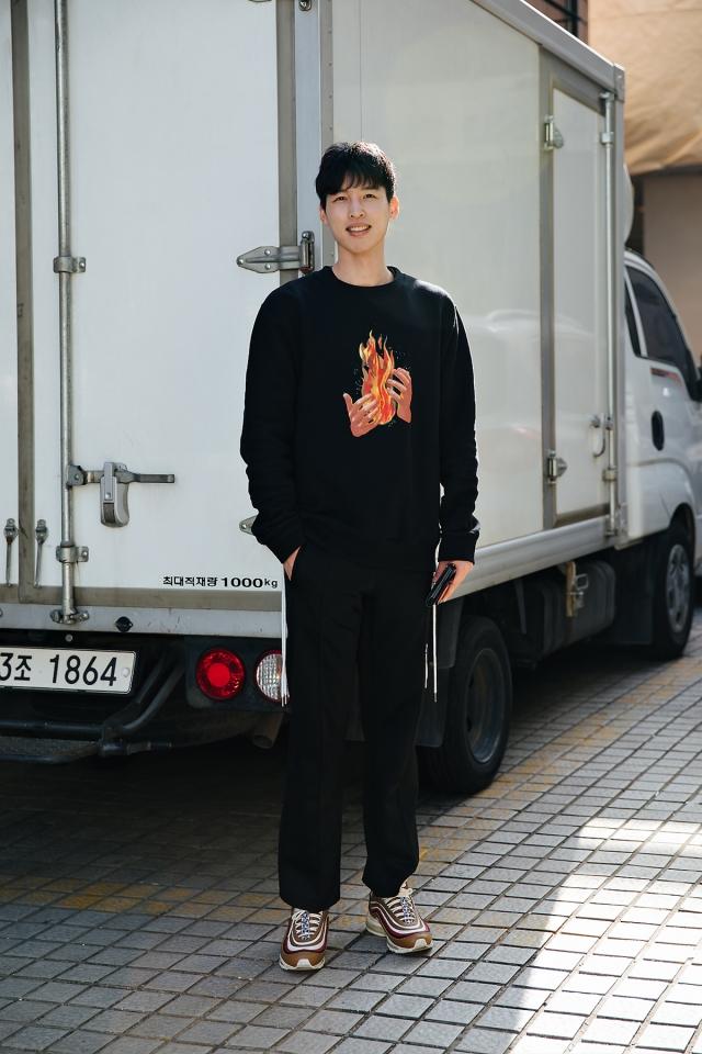 Hong Inki, Street style men spring 2018 in seoul