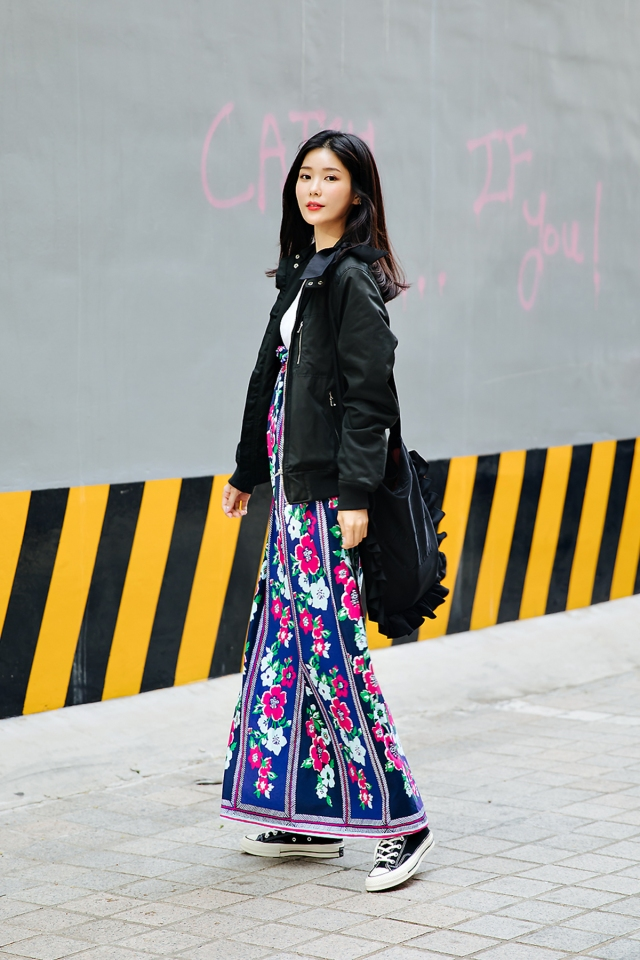 Lee Sanga, Street style women spring 2018 in seoul