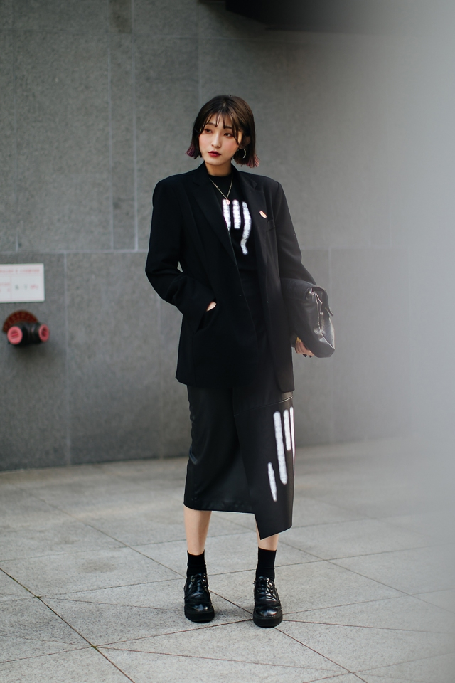 Maiqi, Street style women spring 2018 in seoul