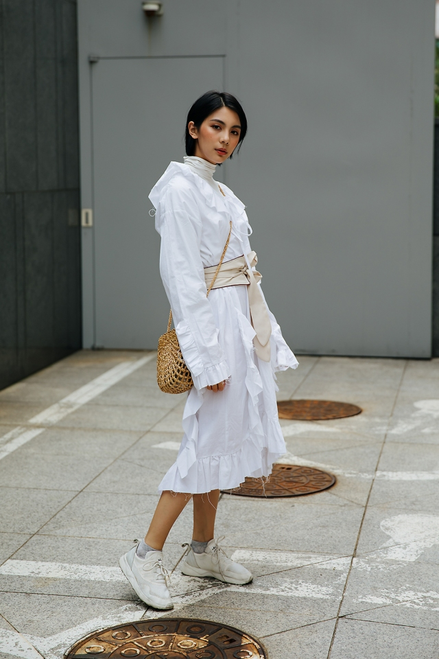 May Yu, Street style women spring 2018 in seoul