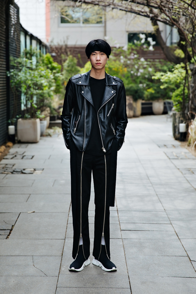 Yoo Soomin, Street style men spring 2018 inseoul