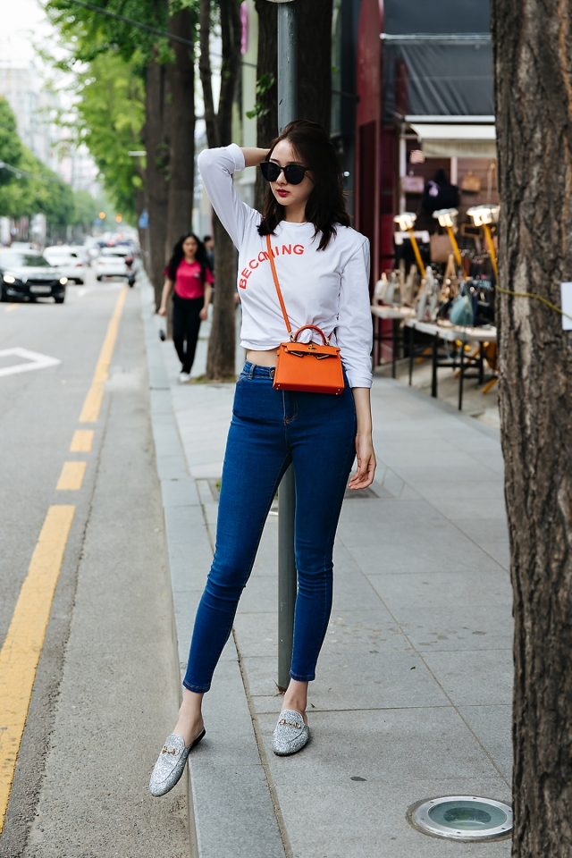 Chenming, Street style women spring 2018 in seoul