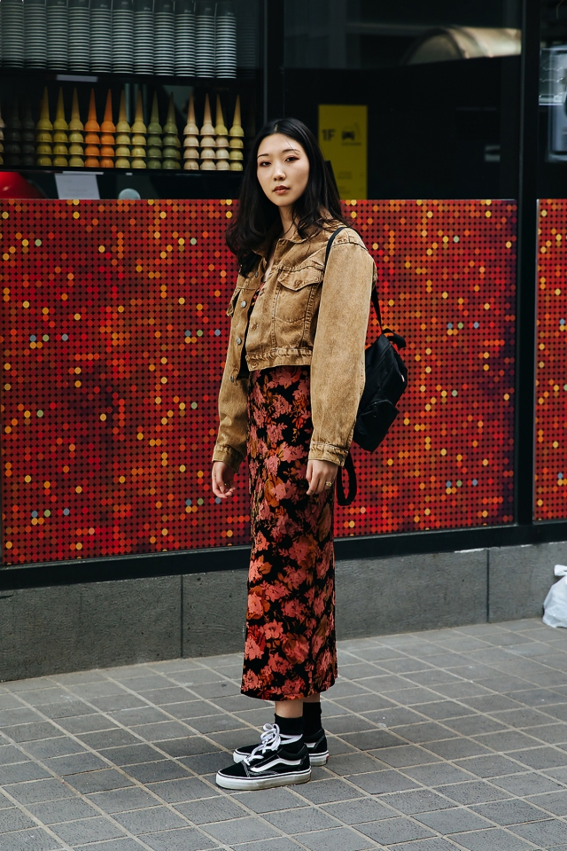Lee Haju, Street style women spring 2018 in seoul