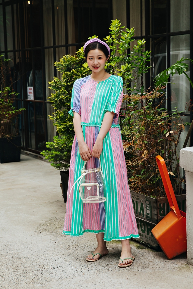 Yuanyuan, Street style women spring 2018 in seoul