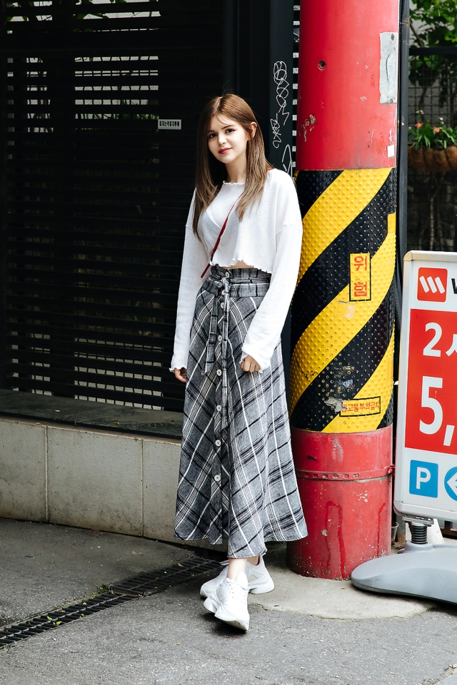 Yumi Aslan, Street style women spring 2018 in seoul